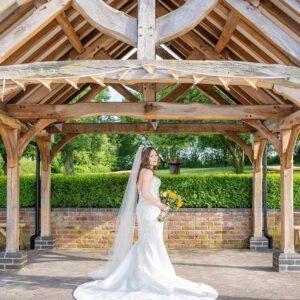 Wedding Photographer at Wethele Manor Leamington Spa Warwickshire Bride Portrait