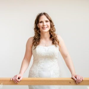 Wedding Photographer at Wethele Manor Leamington Spa Warwickshire Bride Prep Portrait
