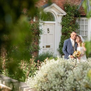 Wedding Photographer at Wethele Manor Leamington Spa Warwickshire Bridal Portrait