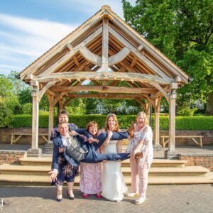 Wedding Photographer at Wethele Manor Leamington Spa Warwickshire Fun Photo