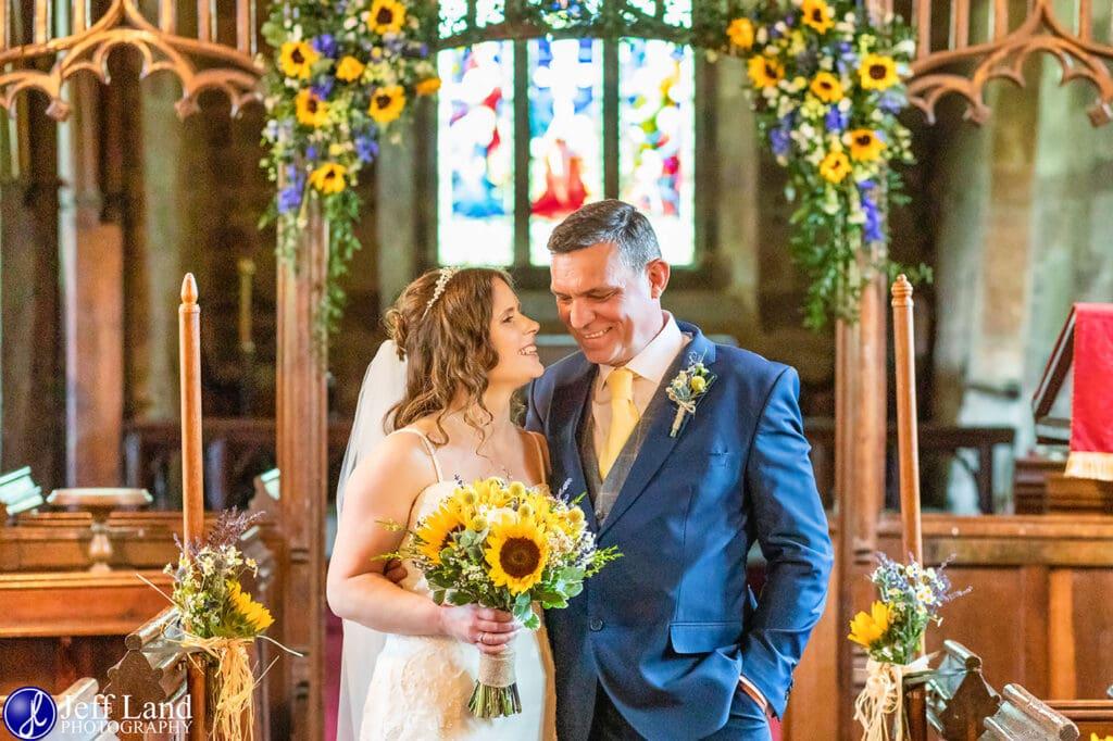 Wedding Photographer at Wethele Manor Leamington Spa Warwickshire Bride & Groom Just Married