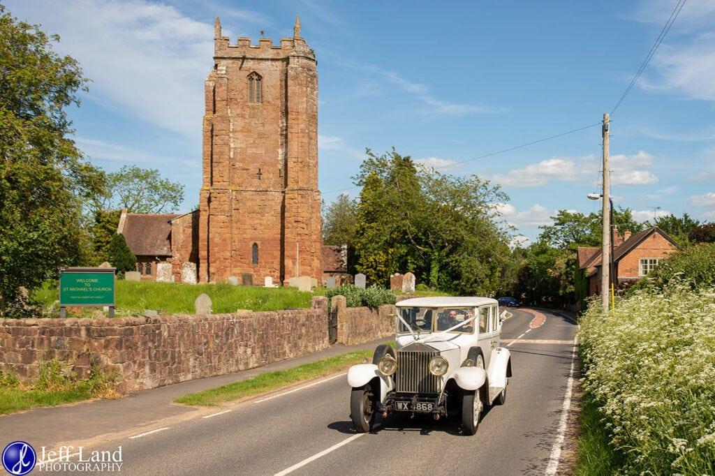 Wedding Photographer at Wethele Manor Leamington Spa Warwickshire St Michaels Church