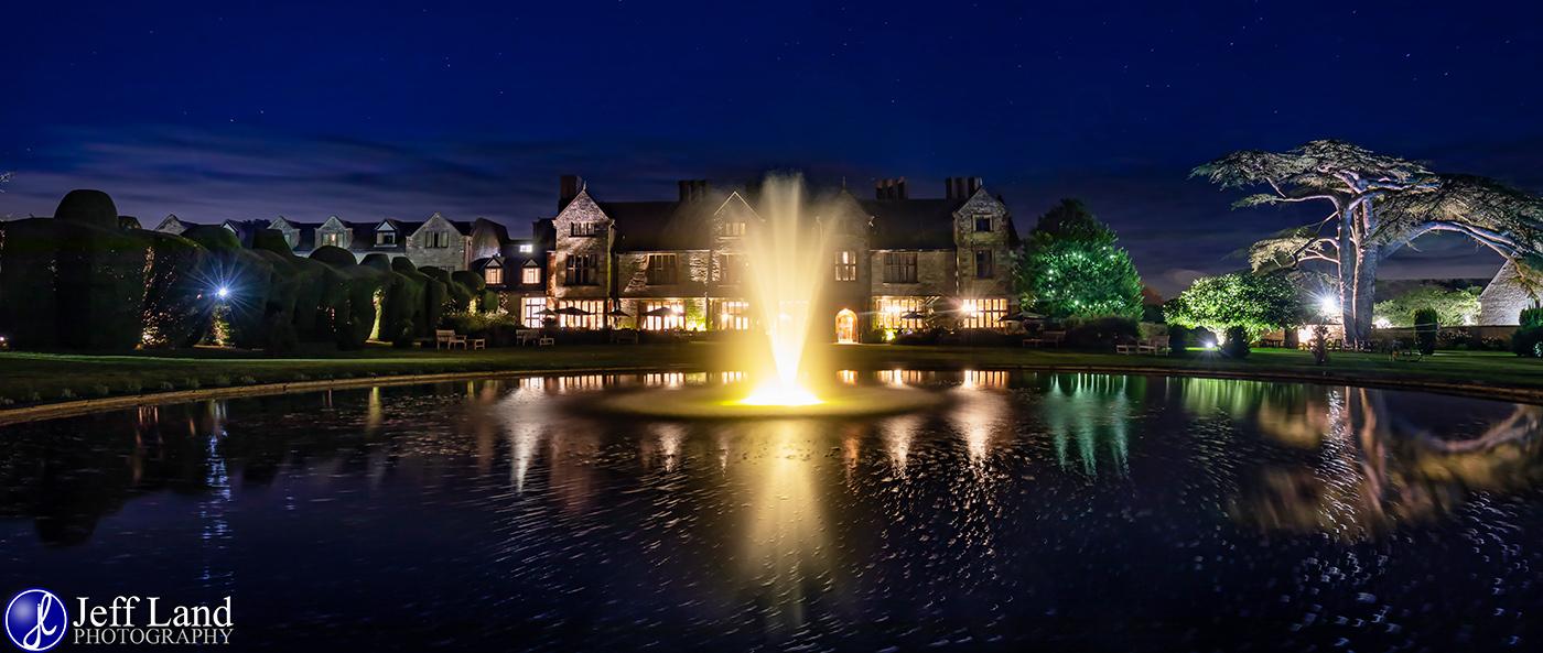 Billesley Manor Night Photographer