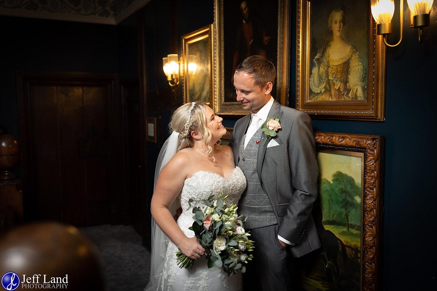 Billesley Manor Wedding Photo