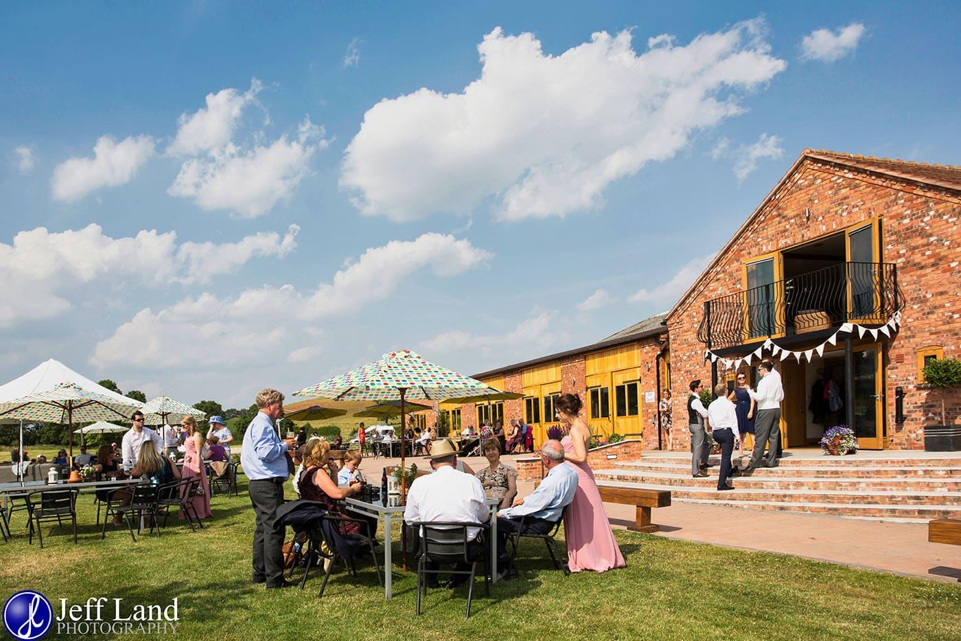 Wootton Park Outdoor Wedding Photo